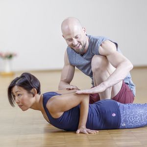 Fascia Yoga: establishing well-balanced helical tension in the shoulders, elbows and wrists