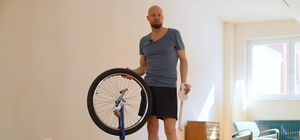 Healthy Joints: Using a unicycle to get there