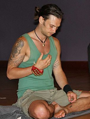 Meditation is a very important aspect of the practice for Marcell