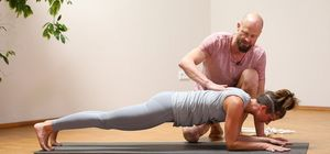 Yoga therapy for the shoulder