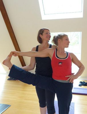 Yoginis are in safe hands with Romana