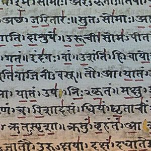 Source texts and Sanskrit