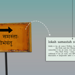 Transliteration - bring Sanskrit into a script you're familiar with