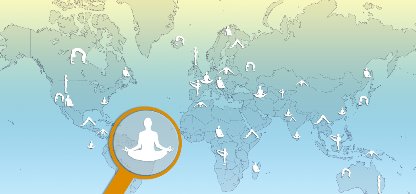 Find a qualified yoga teacher close to where you live!