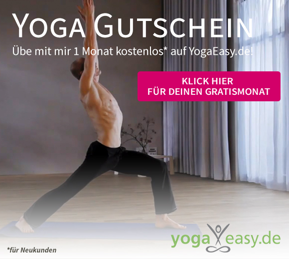 Free Yoga for one month at YogaEasy with Dr. Ronald Steiner