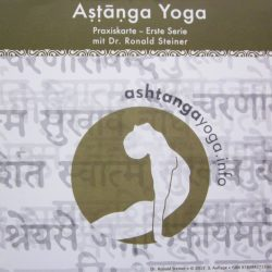 Ashtanga Yoga Practice card for the Primary Series - by Dr. Ronald Steiner