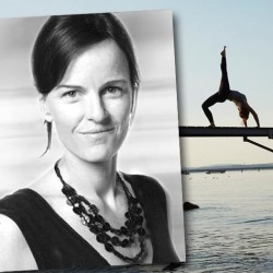 Former competitive athlete turns yoga teacher