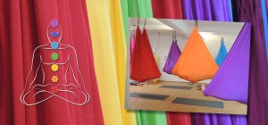 Aerial Yoga, Colors and Chakras